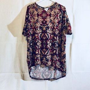 Luluroe short sleeve high/low tee sz XS